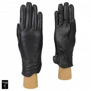 Перчатки, натуральная кожа, Fabretti S1.39-1 black