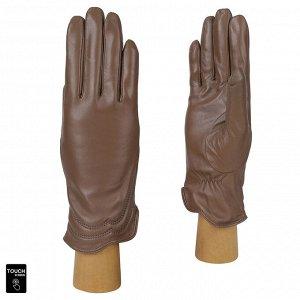 Перчатки, натуральная кожа, Fabretti S1.39-5 beige