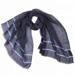 Мужской шарф 70*180см, состав 100% шерсть,LEO VENTONI, IT42620A-1