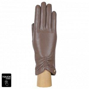 Перчатки, натуральная кожа, Fabretti S1.7-22 beige