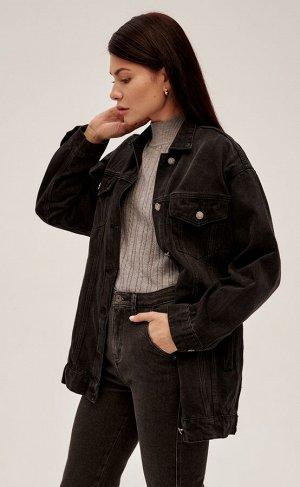 Куртка Новинка от Fine Joyce - универсальная женская джинсовая куртка для тех, кто любит комфорт, практичность и хочет быть в тренде.Характеристики  Бренд Fine Joyce  Коллекция AW20-21  Новинк