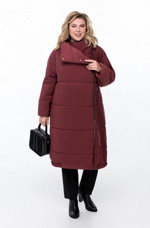 Пальто Пальто Pretty 1173 марсала  Состав ткани: ПЭ-100%;  Рост: 164 см.  Женское дутое пальто на синтепоне, предназначенное для эксплуатации в осенне-зимний период с температурой воздуха до -15 град