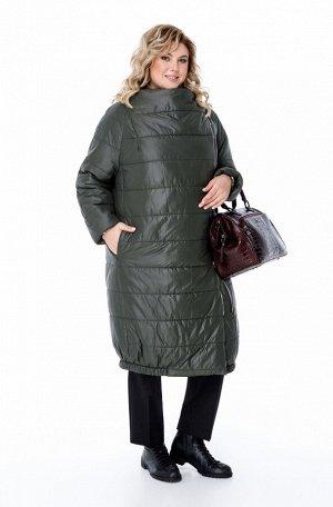 Пальто Пальто Pretty 1173 темно-зеленый  Состав ткани: ПЭ-100%;  Рост: 164 см.  Женское дутое пальто на синтепоне, предназначенное для эксплуатации в осенне-зимний период с температурой воздуха до -1