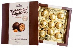 Конфеты Скидка! Срок годности июль-август 2021.  Вид упаковки: картон коробка, срок годности: 6 мес, В основе этого лакомства - сибирское сокровище, кедровый орех. Он является ценнейшим источником выс