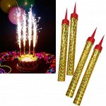 Фейерверк для торта Birthday Candle 6 штук 17 см.