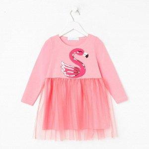 "Платье  KAFTAN ""Фламинго"" р.30 (98-104)"