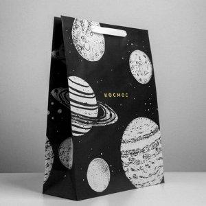 Пакет крафтовый «Космос» большой
