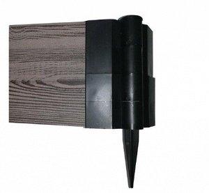 Шарнир для клумбы SH150PL 25х150мм пластик (60)