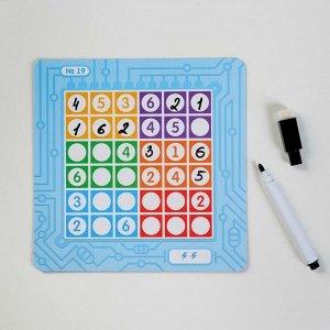 Настольная игра-головоломка «Весёлые судоку»