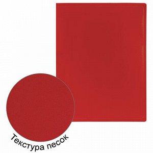 Папка 80 вкладышей STAFF, красная, 0,7 мм, 225710