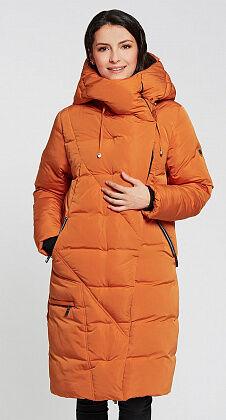 "Пальто ""Латоя""  оранжевый"