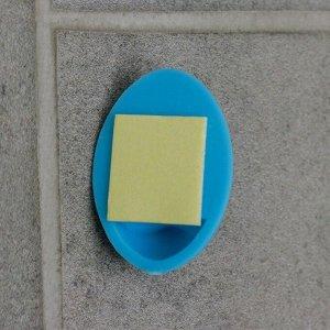 Набор крючков на липучке Доляна «Овал. Классик», 6 шт, цвет МИКС