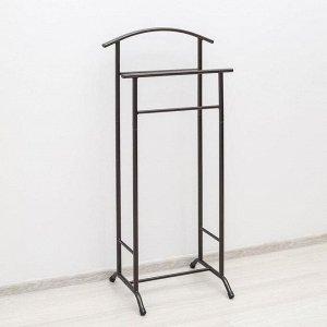 Вешалка гардеробная «Стиль-3», 47?34,8?108 см, цвет медный антик