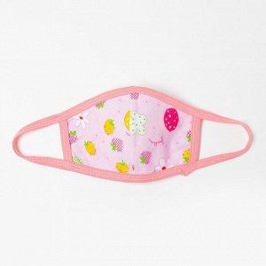 Повязка тканевая для девочки, цвет микс, возраст 3-6 лет