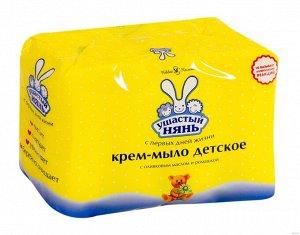 Ушастый нянь крем-мыло Ромашка и Оливковое масло 90г