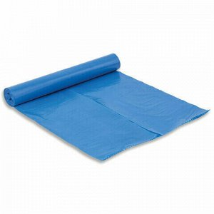 Мешки для раздельного сбора мусора 120 л синие в рулоне 10 шт., ПВД 38 мкм, 70х108 см, LAIMA, 606707, 3866