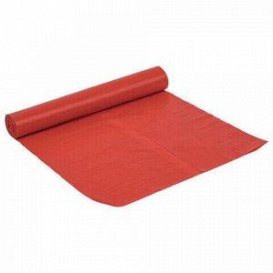 Мешки для раздельного сбора мусора 120 л красные в рулоне 10 шт., ПВД 38 мкм, 70х108 см, LAIMA, 606706, 3859