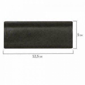 Мешки для мусора 30 л, черные, в рулоне 20 шт., ПНД, 10 мкм, 50х60 см (±5%), прочные, ОФИСНАЯ ПЛАНЕТА, 601380