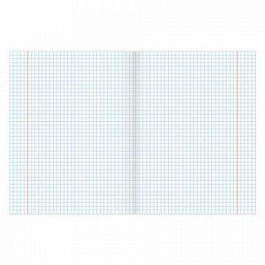 Тетрадь предметная КЛАССИКА 48 листов, обложка картон, ГЕОГРАФИЯ, клетка, подсказ, BRAUBERG, 403516
