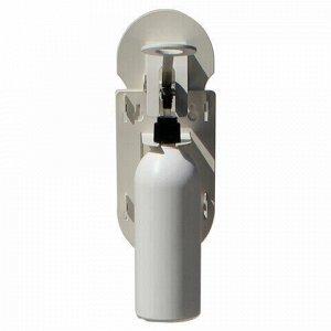 Диспенсер локтевой для жидкого мыла и антисептика НАЛИВНОЙ, 0,5 л, с флаконом, D-001
