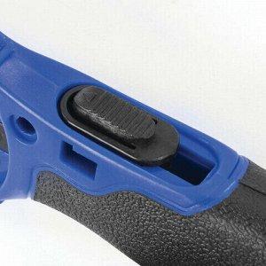 Нож раскройный роликовый 45 мм BRAUBERG, круглое лезвие, резиновые вставки, 237162