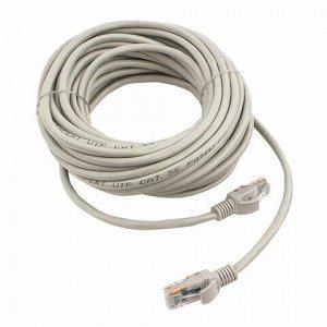 Кабель (патч-корд) UTP 5e категория, RJ-45, 10 м, CABLEXPERT, для подключения по локальной сети LAN, PP12-10M