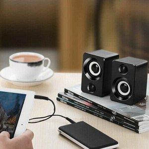 Кабель Jack 3.5 mm M-M, 1,5 м, SONNEN, для передачи стерео-аудио, черный, 513119