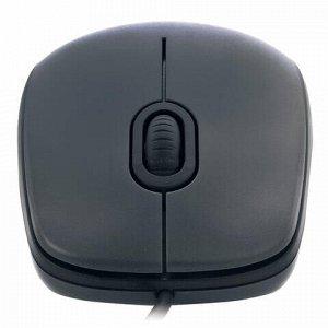Мышь проводная LOGITECH M90, USB, 2 кнопки + 1 колесо-кнопка, оптическая, черная, 910-001794