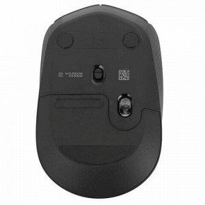 Мышь беспроводная LOGITECH B170, 2 кнопки + 1 колесо-кнопка, оптическая, черная, 910-004798