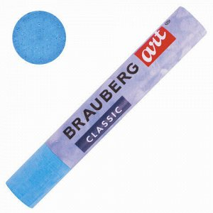 Пастель масляная художественная BRAUBERG ART CLASSIC, УТОЛЩЕННАЯ, 12 цветов, круглое сечение, 181450