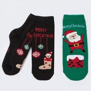 Комплект носков Санта и Игрушки из 2-х пар DMDBS