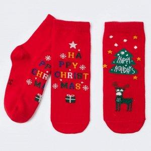 Комплект носков Happy Christmas из 2-х пар DMDBS