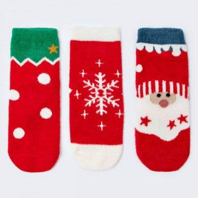 ДЕТСКИЙ ГАРДЕРОБ: Новогодние носочки