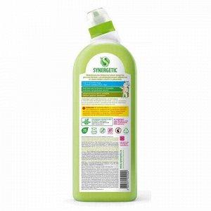 """Средство для уборки туалета антибактериальное 700 мл SYNERGETIC """"Чайное дерево и эвкалипт"""", биоразлагаемое, 51020, 104071"""