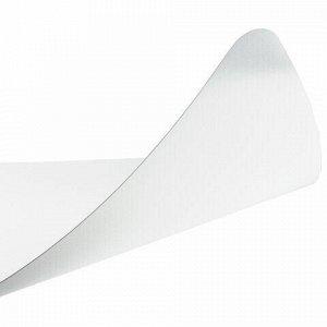 Коврик защитный напольный BRABIX, полипропилен, 100х120 см, матовый, толщина 1,2 мм, 606623