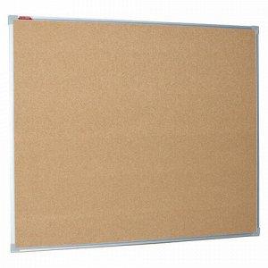 Доска пробковая для объявлений 100х120 см, металлическая рамка, BOARDSYS, П*120