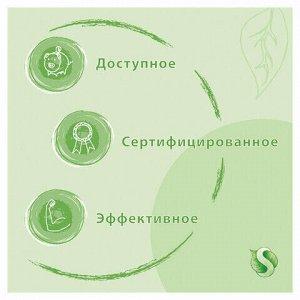 Средство для мытья пола и поверхностей 1 л SYNERGETIC, c дезинфицирующим эффектом, биоразлагаемое, 101100