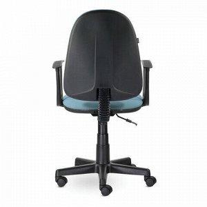 """Кресло BRABIX """"Prestige Start MG-312"""", эргономичная спинка, ткань, бирюзовое, 531921"""