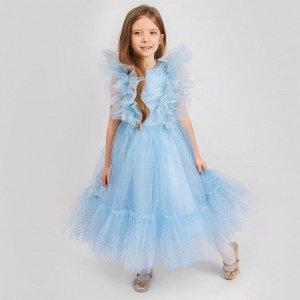Платье Соль&Перец для девочки/Цвет: голубой