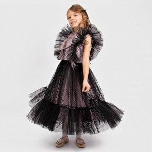 Платье Соль&Перец для девочки/Цвет: черный