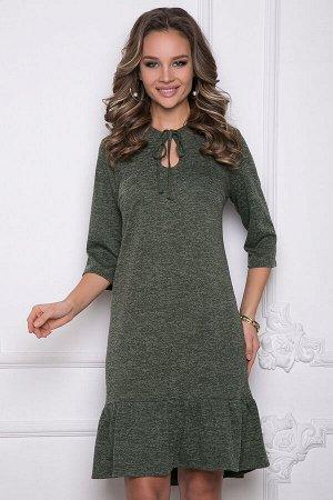 Платье марика (рифле грин)