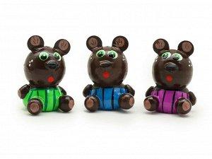 Фигурка магнитик Мишка в полосатых штанах