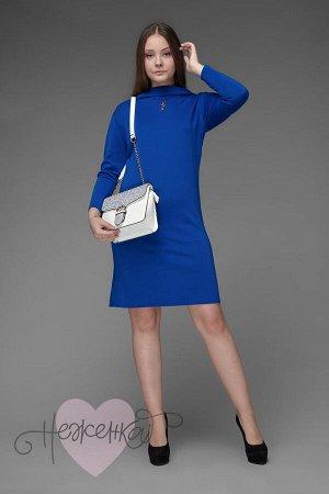 Платье П 496 (васильковый)