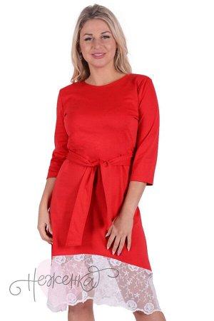 Платье П 740 (красный)
