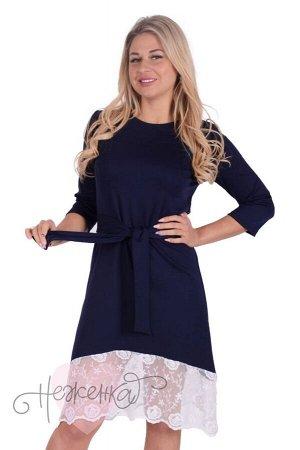 Платье П 740 (темно синий)