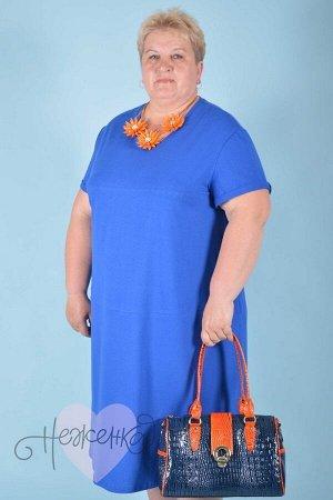 Платье П 588 (васильковый)