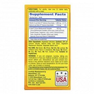 Nature's Bounty, Ester-C, 1000 мг, 120 вегетарианских таблеток, покрытых оболочкой