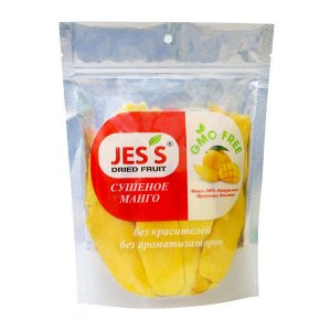Cушеное манго – пакет 500г. Jes's
