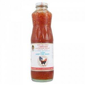 Соус сладкий чили для курицы (Maepranom Sweet Chilli Sauce for chicken 980 gr.), стекло, Тайланд