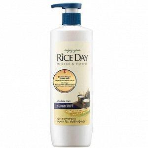 "CJ LION ""Rice Day"" Шампунь 550мл для нормальных волос увлажняющий /12шт/"